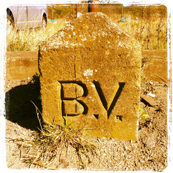 Bolckow & Vaughan boundary marker