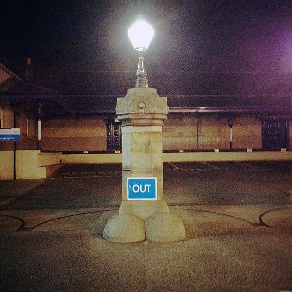 Station Gatepost