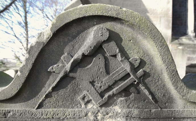 Detail from a Gravestone