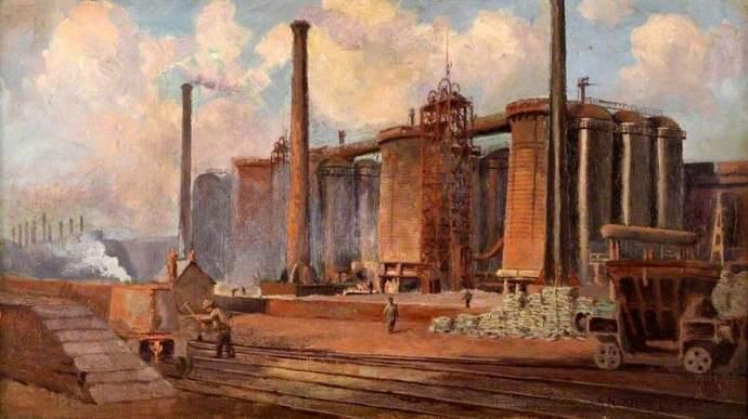 Ayresome Ironworks - George Norman Crosse