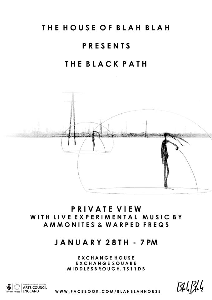 Black path flyer
