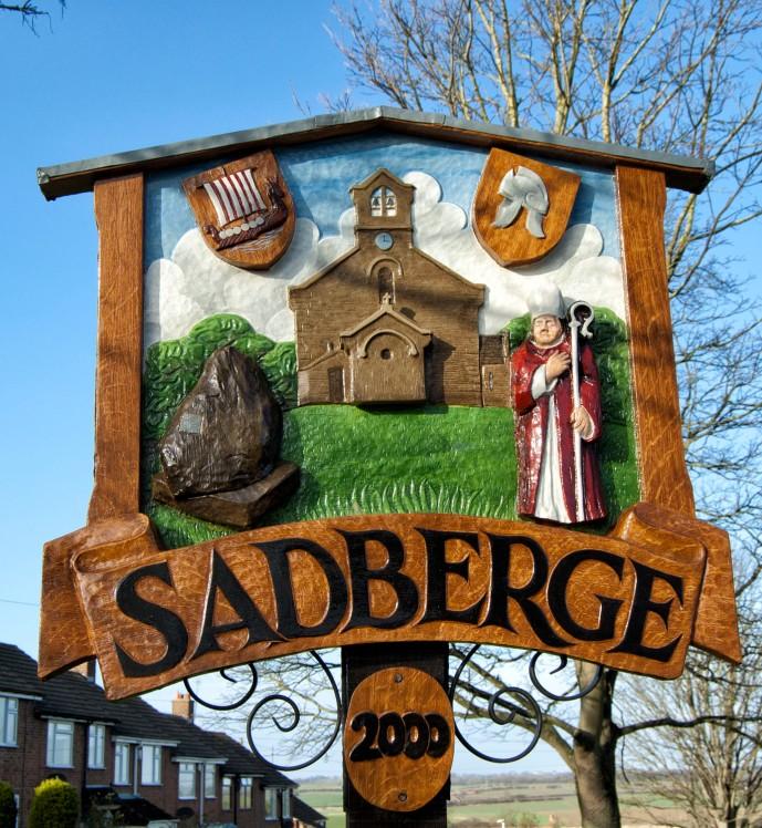 Sadberge sign