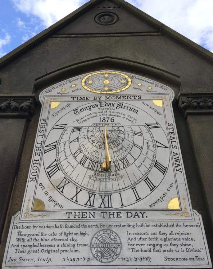 Sundial Albert Park