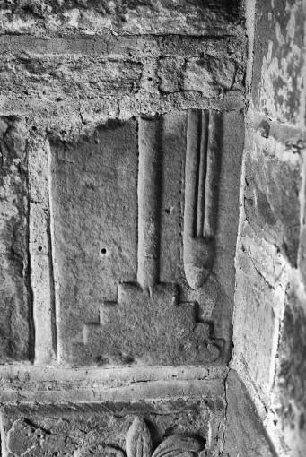 Forcett figure cross slab