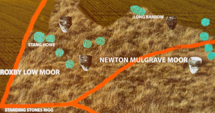 Newton Moor map