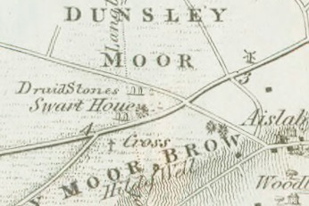 Swarth Howe Robert Knox Map 1855