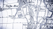 Carlin Howe map