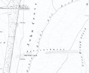 1853 OS Map
