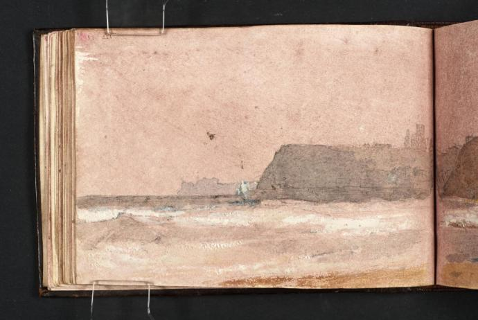 Whitby Abbey and Cliffs, from the North 1801 by Joseph Mallord William Turner 1775-1851