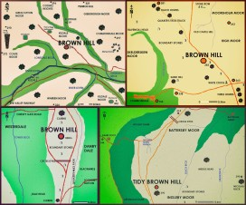 Brown Hill 4 Map