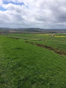 Looking over to Beacon Moor, the Eston Hills & Teesside
