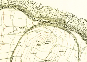 Warsett Map