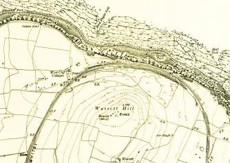 Warsett Map