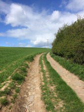 Warsett track