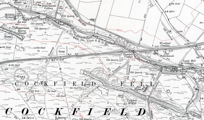 Cockfield Map