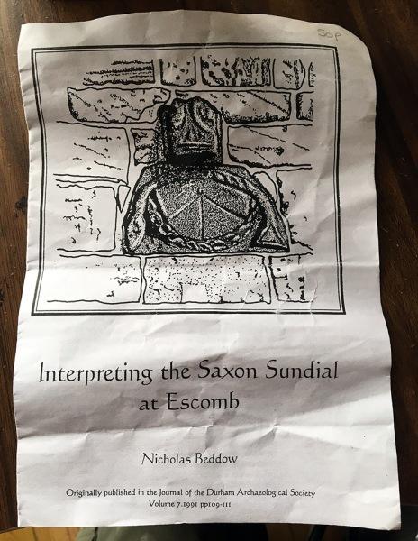 sundial leflet