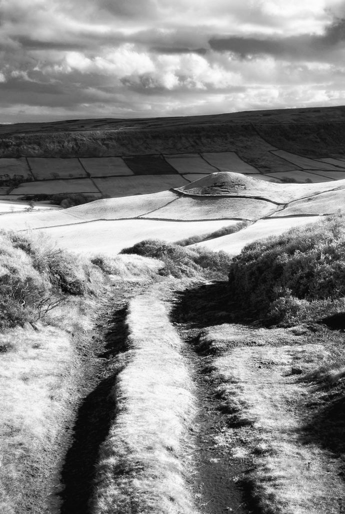 TOHW path round hill