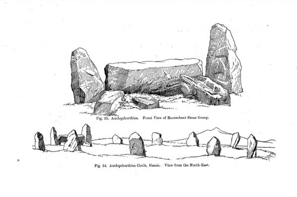 Easter_Aquhorthies_stone_circle,_Fred._Coles_1900