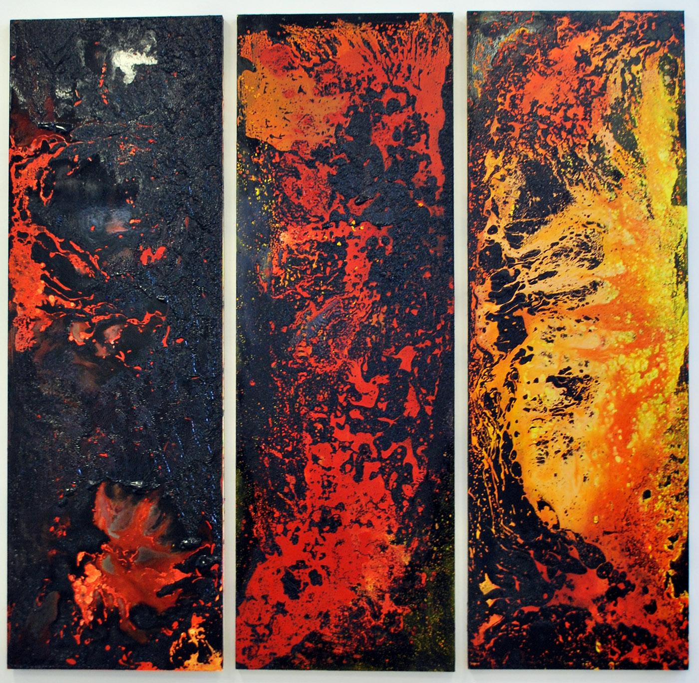 Coke oven triptych